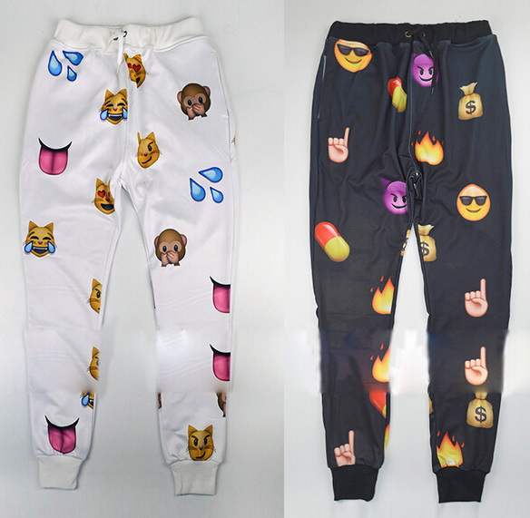 Emoji trouser and sweater pant
