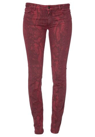 python red bel air slim pants