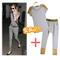 2013 summer women's rivet short sleeve t shirt harem pants fashionable casual set-inwomen from apparel & accessories on aliexpress.com
