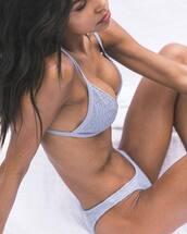 bikini top,grey bikini top,bikini bottoms,swimwear