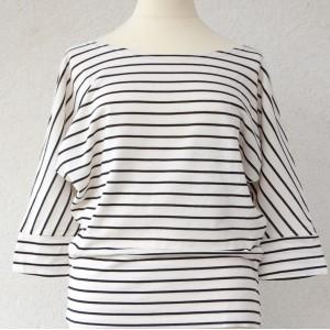 Shirt rayé, marinière manches longues, marinière féminine, look marin