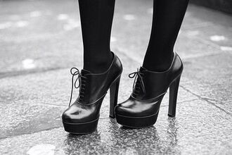 shoes heels laces boots cute shoes stockings black shoes black heels shiny