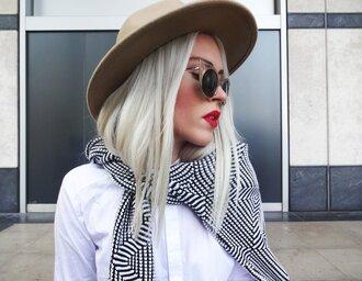 style lime light blogger cardigan shirt shoes hat sunglasses make-up