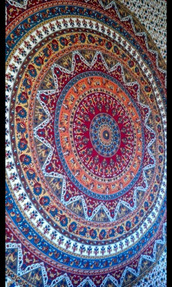 scarf,crazy,hippie,home decor,indian tapestry,wall hanging