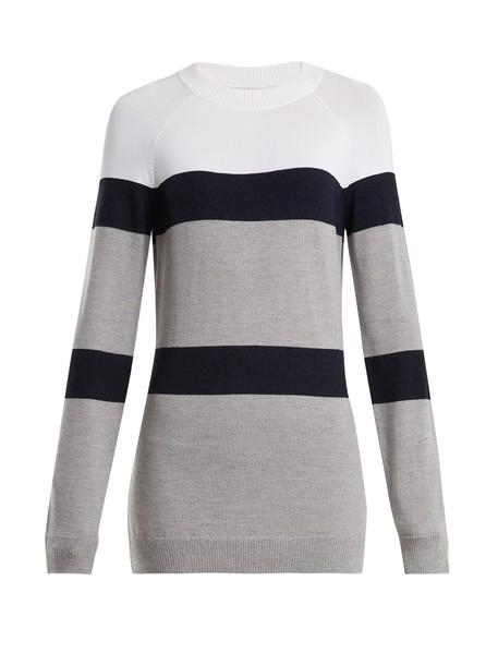 lndr sweater wool knit white