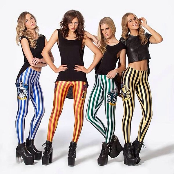 pants gryffindor hufflepuff slytherin ravenclaw hogwarts leggings harry potter