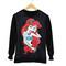 Ariel disney princess print pullover sweater - princess, disney, chic | awesome world - online store