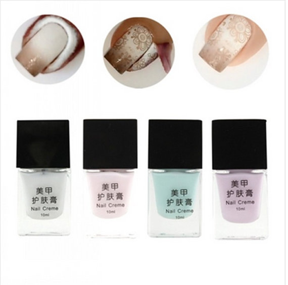 4 Color 10ml Nail Creme Peel Off Liquid Finger Skin Protected Nails ...