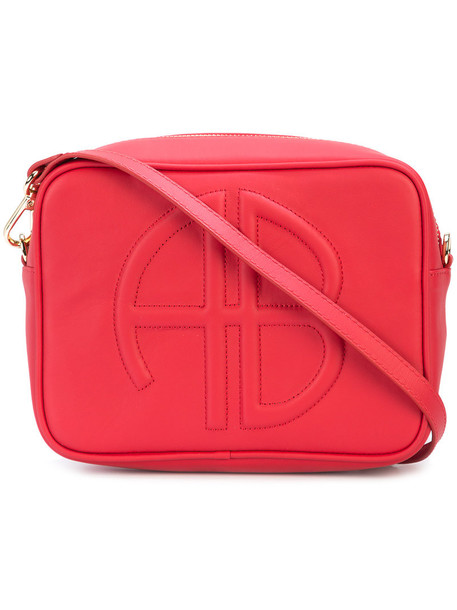 Anine Bing women bag leather red
