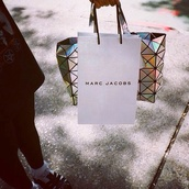 bag,holographic,metallic,structure,hipster,indie