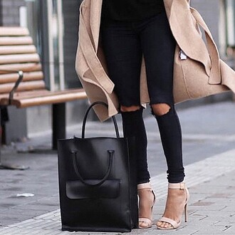 jeans skinny jeans black skinny jeans ripped jeans black ripped skinny jeans denim back to school grunge fashion blogger divergence clothing black jeans black ripped pants cute outfits tumblr outfit