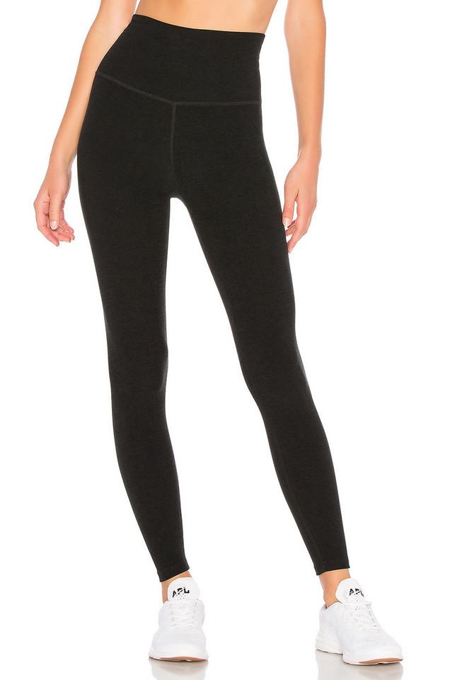 Beyond Yoga Spacedye High Waisted Midi Legging in black