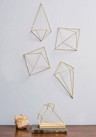 home accessory gold wall decor home decor hipster diamonds vase metallic geometric our favorite home decor 2015 metallic home decor