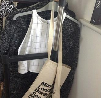 shirt top stripes striped shirt blouse tank top crop tops white
