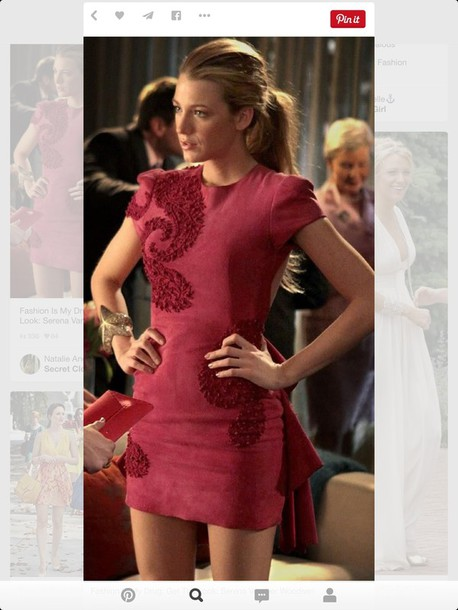 dress gossip girl serena van der woodsen
