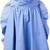 MSGM striped skirt, Women's, Size: 44, Blue, Cotton