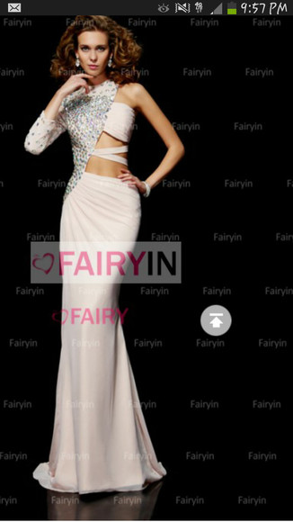 dress long dress long prom dresses prom 2k14 one shoulder dresses bedazzled sexy prom dresses