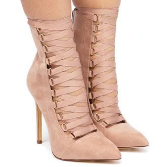 shoes booties heels nude nude shoes nude heels nude booties mauve mauve shoes mauve booties mauve heels lace up lace-up shoes lace up heels suede suede shoes suede heels suede booties flyjane