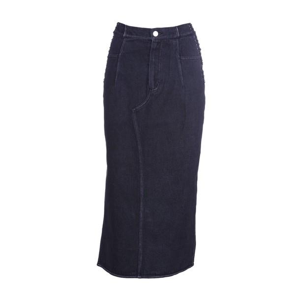 3.1 Phillip Lim skirt denim skirt denim black