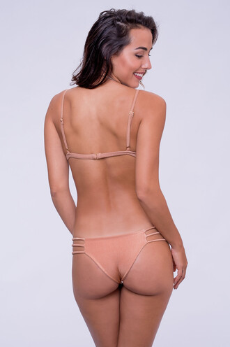 swimwear bikini bottoms cheeky dbrie swim peach reversible bikiniluxe
