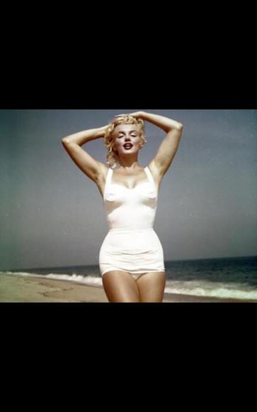 marilyn monroe swimwear bikini beach