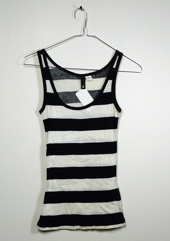 3e2afed849ce98 nitro licious shop » Blog Archive » H M Black White Striped Tank Top