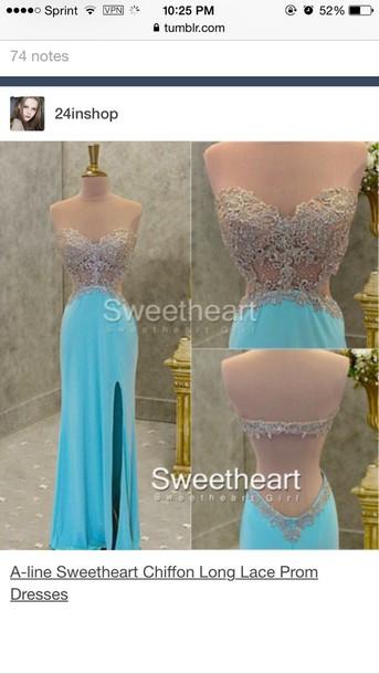 dress mint prom