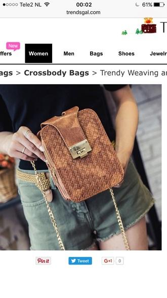bag brown trendy fashion style purse stylish fall outfits trendsgal.com