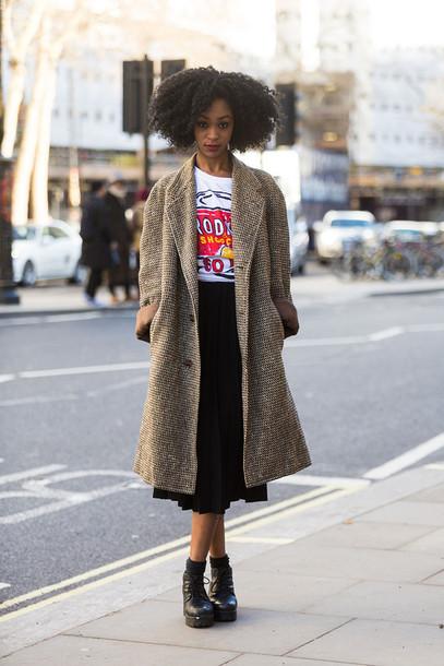 coat streetstyle london fashion week 14