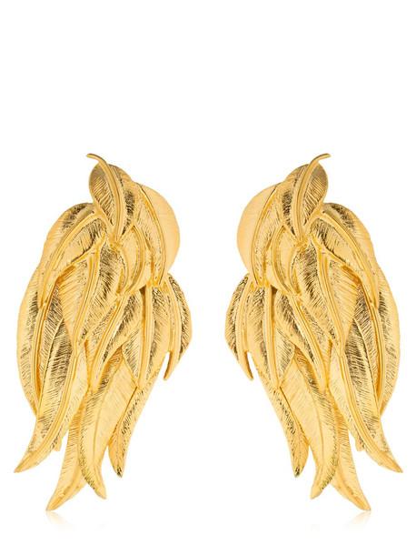 AURELIE BIDERMANN Elvira Earrings in gold