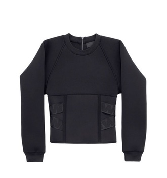 sweater black sweater alexander wang h&m