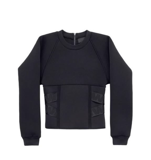 sweater black sweater alexander wang h&m