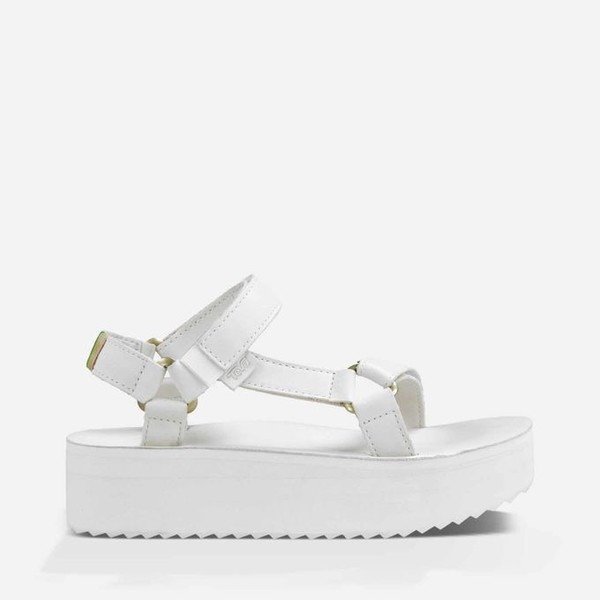 shoes sandals white teva 90s style