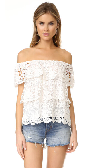 top off the shoulder white