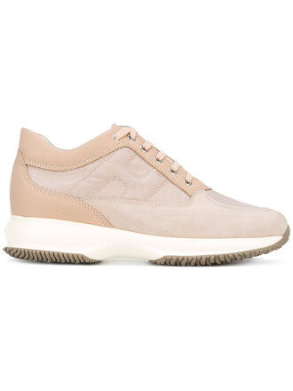 women classic sneakers leather nude suede shoes