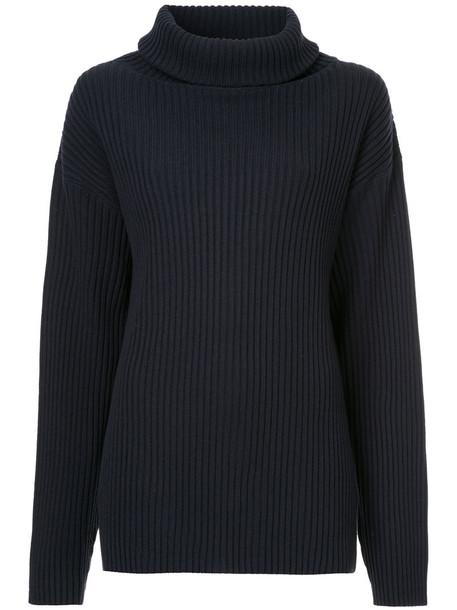 The Gigi sweater women blue wool