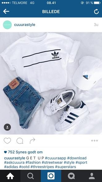 shorts adidas adidas superstars adidas originals adidas cap adidas shirt high waisted shorts denim shorts denim