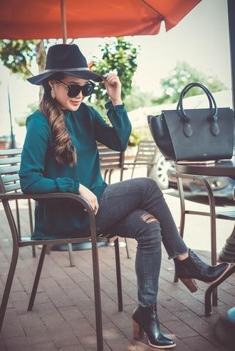 gracefullee made blogger top sunglasses shoes jewels bag make-up