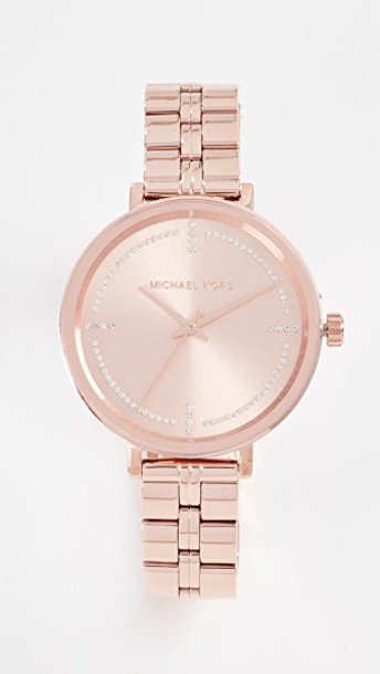 Michael Kors watch rose gold rose gold jewels