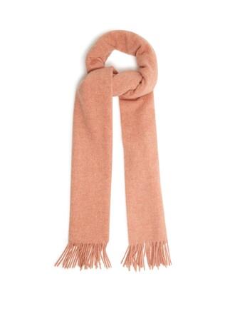 scarf wool pink