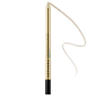 make-up eyeliner gold eyeliner party make up