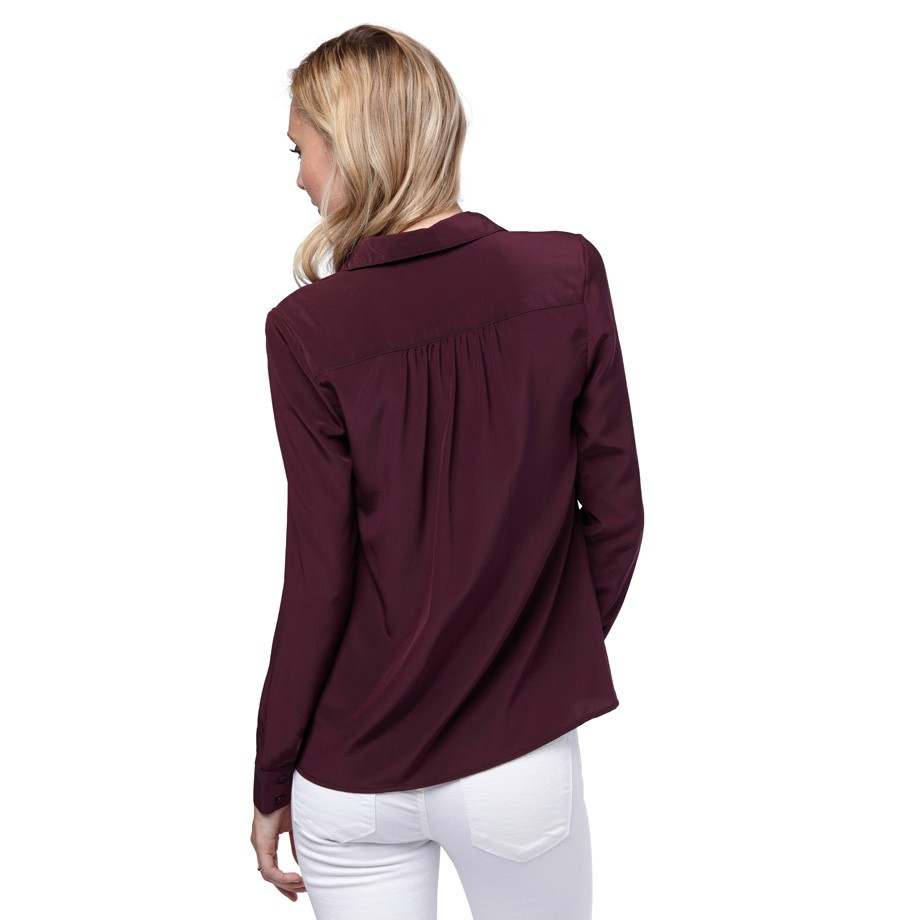a40bd151b3930 Gathered Silk Shirt