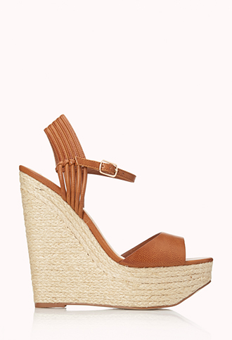 Favorite Espadrille Wedge Sandals | FOREVER21 - 2000089979
