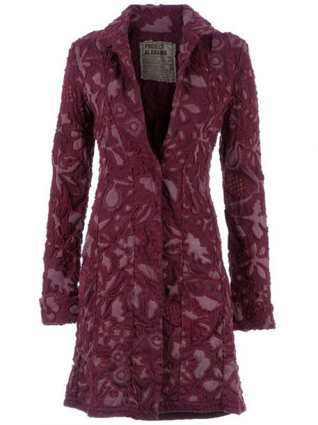 Projet Alabama coat purple pink