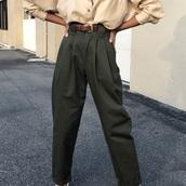 pants,green pants