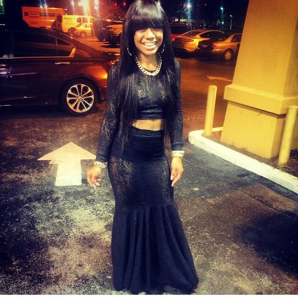 two-piece black lace dress 2 pieces set two-piece pretty gorgeous cute dress cute chinese bangs see through dress see through top