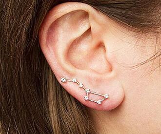 jewels earrings stars pretty jewllery