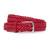 Rag & Bone Slim Braided Belt - Red