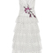 Flocked tulle ruffle dress | moda operandi