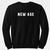 New Age Sweatshirt Back